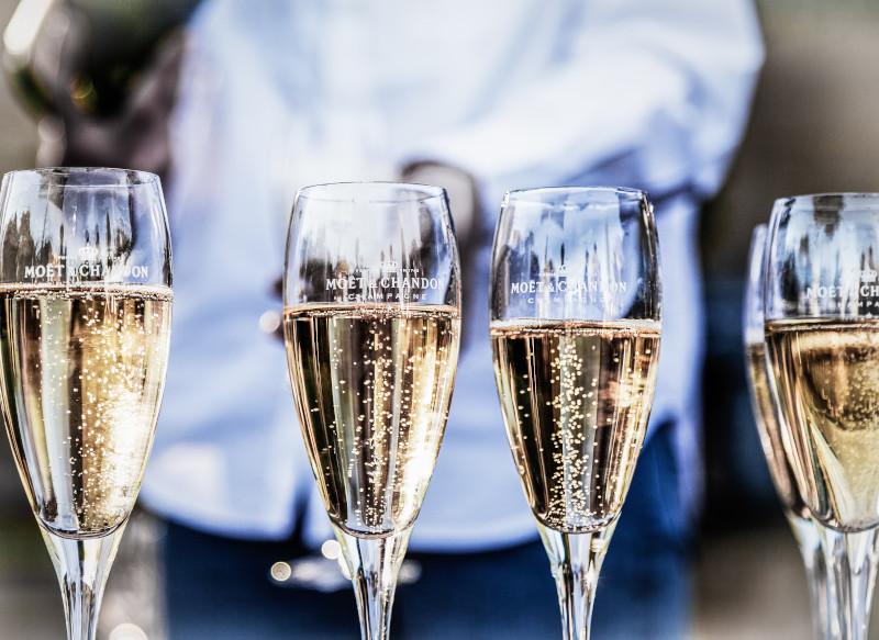 Status Symbol Champagne