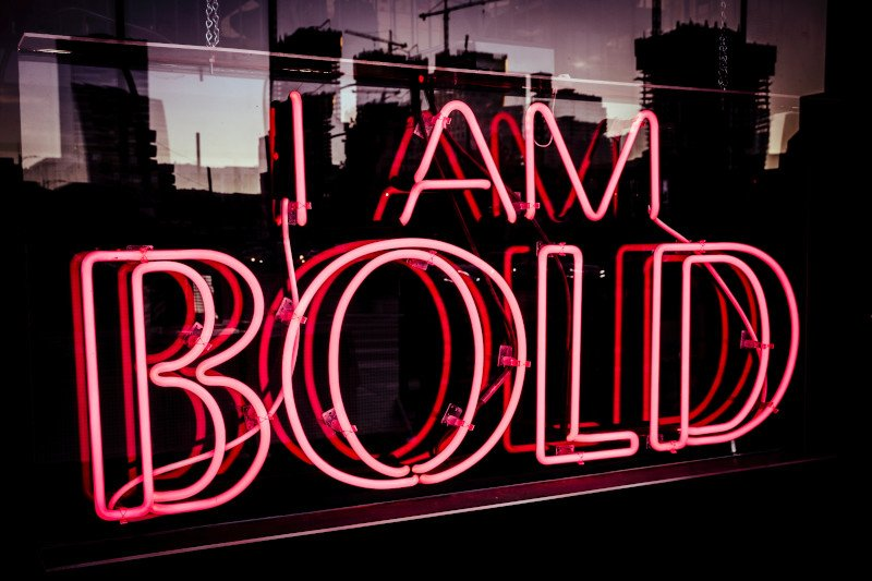 Go boldly where the obstacles are